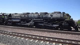 UP 4014 Big Boy - Amtrak Station - Barstow, CA - 4/28/14