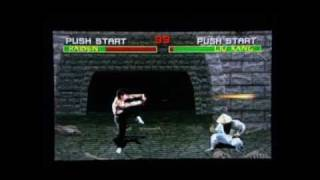 PSP - Midway Arcade Treasures Extended Play - Mortal Kombat gameplay
