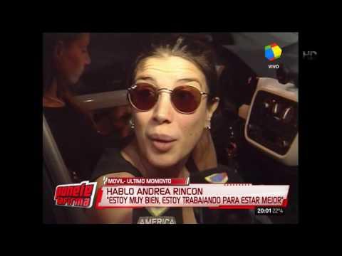 Andrea Rincón: No quiero que lastimen más a mi familia