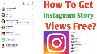 Increase Views On Instagram Story