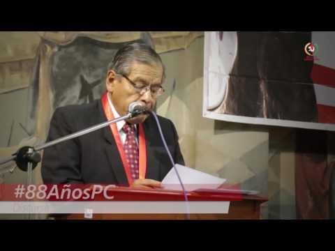 Patria Roja | Discurso Alberto Moreno #88AñosPartidoComunista