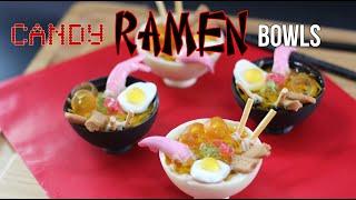 Candy RAMEN Bowls - Japanese Noodle DESSERT | Elise Strachan | My Cupcake Addiction
