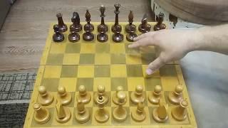 Шахматы. Ловушка для ферзя. Мои первые шахматы.