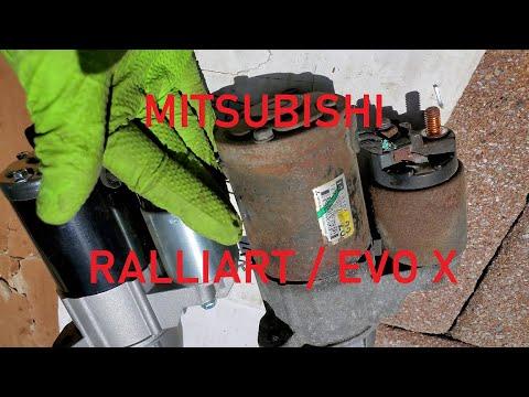 EASY WAY – Mitsubishi Lancer Ralliart & Evolution X – Starter Replacement DIY (4B11T)