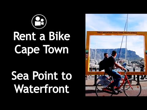 Safest Cycle Route for Tourists - Sea Point to Waterfront | Upcycles Cape Town