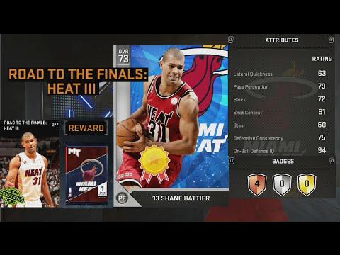NBA 2K16 Reward Shane Battier Attribute Ratings & Badges