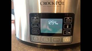 Crock-Pot Programmable MyTime Slow Cooker video review by Dean