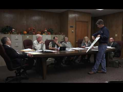 Supervisors' Meeting Brecknock Township Oct 11, 2016