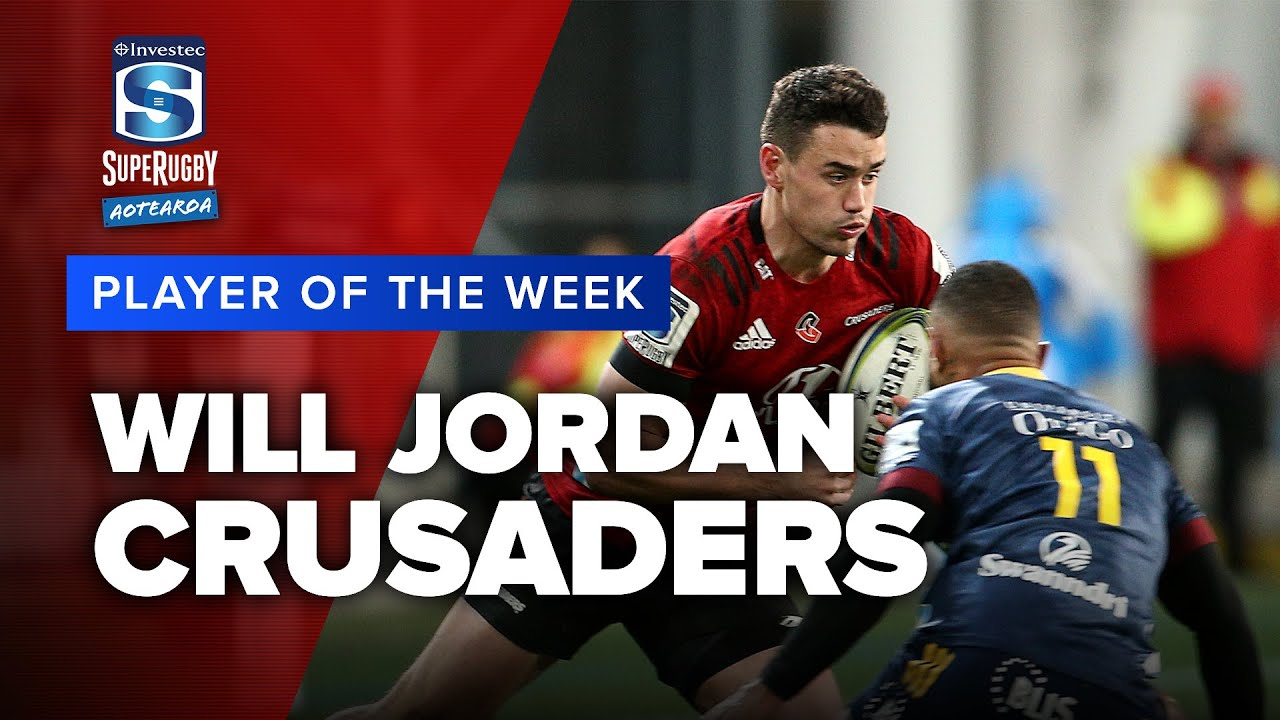 PLAYER OF THE WEEK | Super Rugby Aotearoa Rd 4