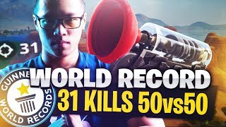 WORLD RECORD 31 KILLS 🏅 - 50V50 HAUTE VOLTIGE - KINSTAAR GAMEPLAY