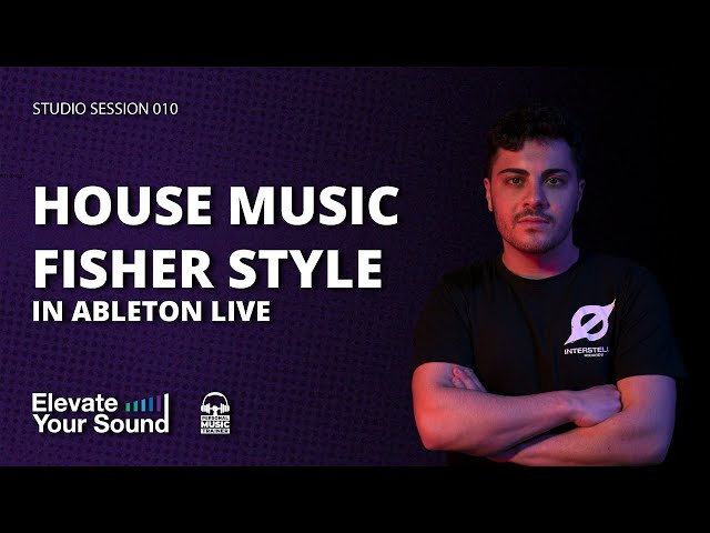 MUSICA HOUSE IN STILE FISHER MIXING Q/A [STUDIO SESSION 010] [MELODIC TECHNO]