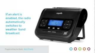 Radio Programming for Your Capello Safe & Sound Weather Alert Radio