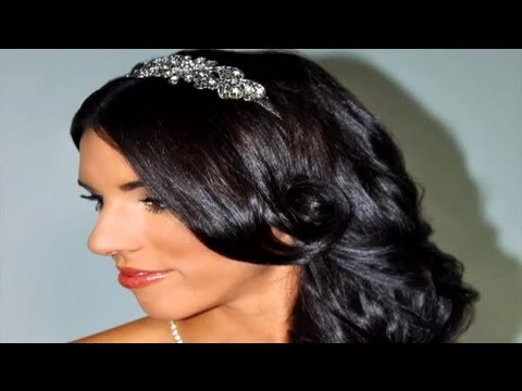 Bridal Hairstyles With Tiaras for Long, Curly Hair : Special Event Hairstyles
