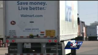 Walmart truck driver walks from job with clean record
