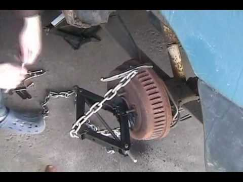 Brake Drum Puller Pops Stuck Rear Drum Youtube