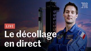 🔴 Revoir le décollage de Thomas Pesquet vers l'ISS à bord d'une capsule SpaceX