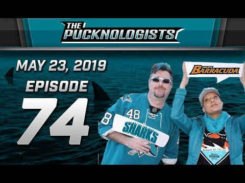 The Pucknologists – EP 73 – Round 3 – San Jose Sharks vs St Louis Blues – 2019 NHL Playoffs
