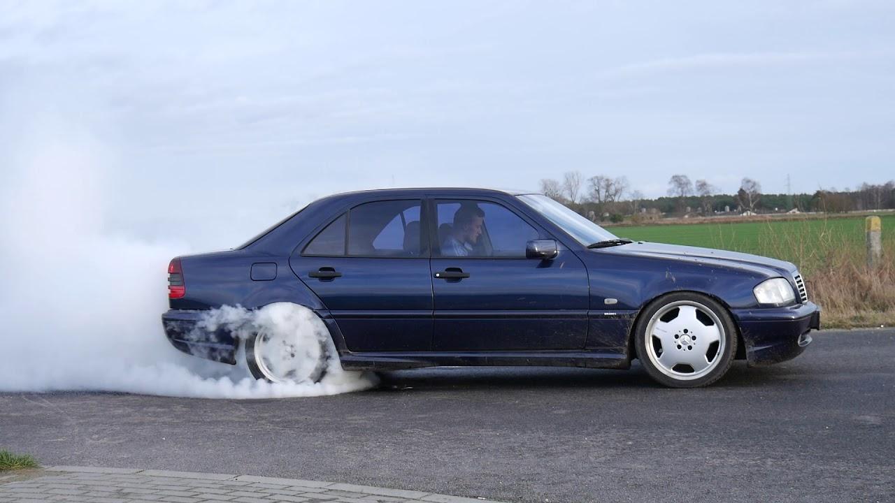 Mercedes C230 Kompressor burnout W202