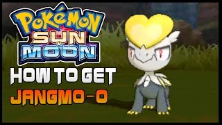 Pokemon Sun and Moon Where to get Jangmo-o  ( How to get Jangmo-o  )