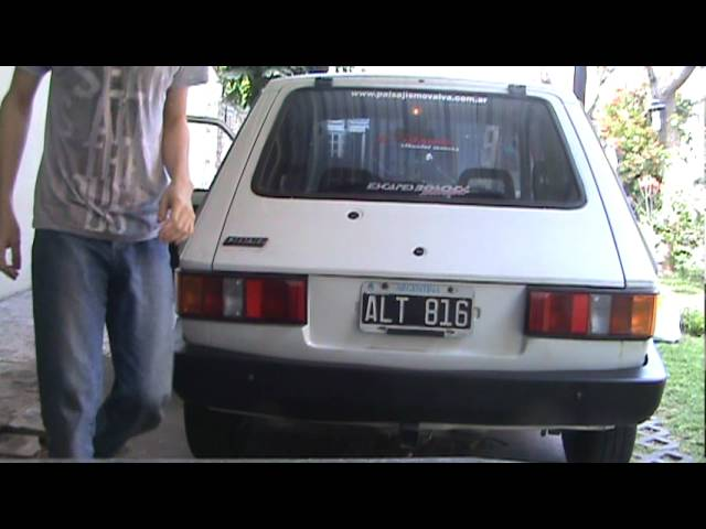 fiat 147 moviendolo y al corte Videos De Viajes