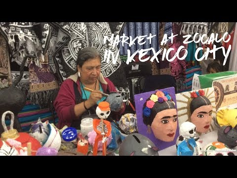 The Market at Zocalo in Mexico City