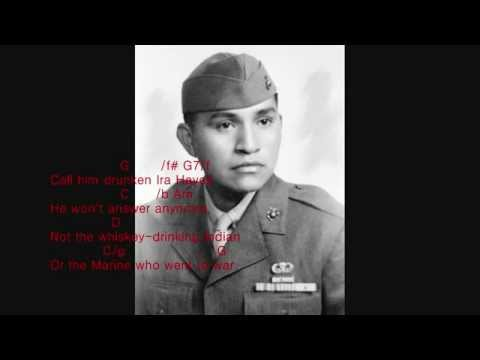 The Ballad Of Ira Hayes - Bod Dylan Cover (Chords & Lyrics)