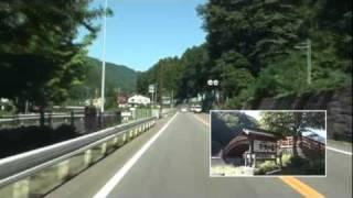 国道19号線の奈良井から塩尻までの車載撮影の映像です。 2年前、中津...