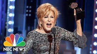 best tony awards acceptance speech moments nbc news