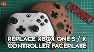 How to change an Xbox S / X Controller Faceplate Tutorial 🎮