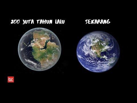 Keadaan Bumi Di Masa Lampau 200 Juta Tahun Lalu