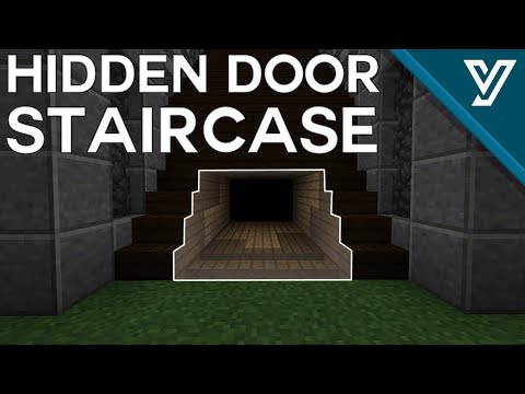 [TUTORIAL] Expandable Hidden Staircase Door for Minecraft ( 1.11 / 1.12 )