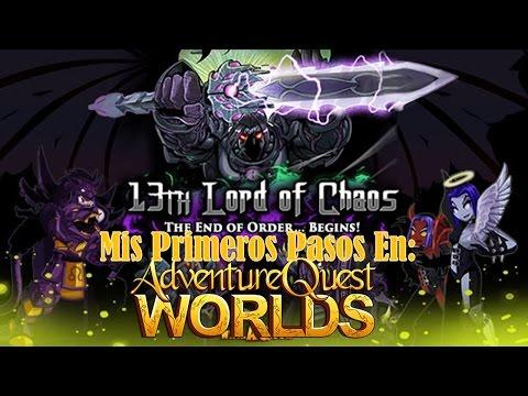 Mis Primeros Pasos En: AdventureQuest World / Gameplay En Español
