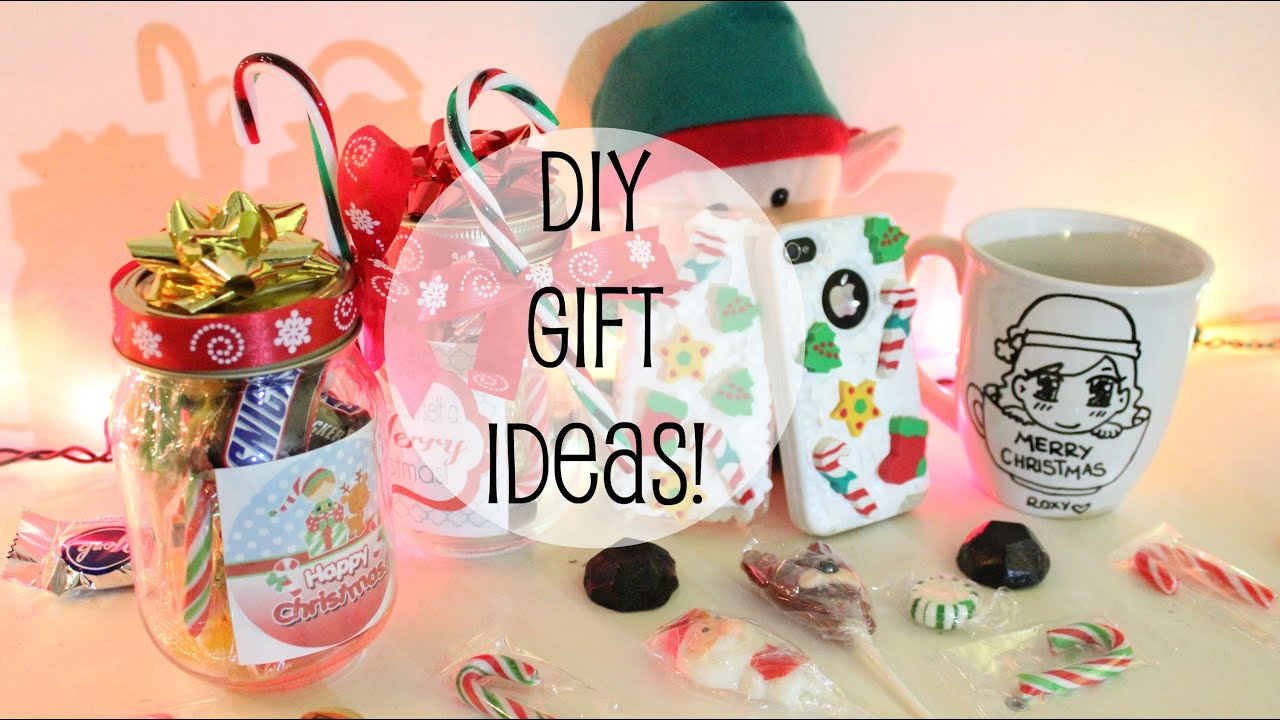 Cool Craft Ideas For Christmas Gifts Part - 20: DIY CHRISTMAS GIFT IDEAS! - YouTube