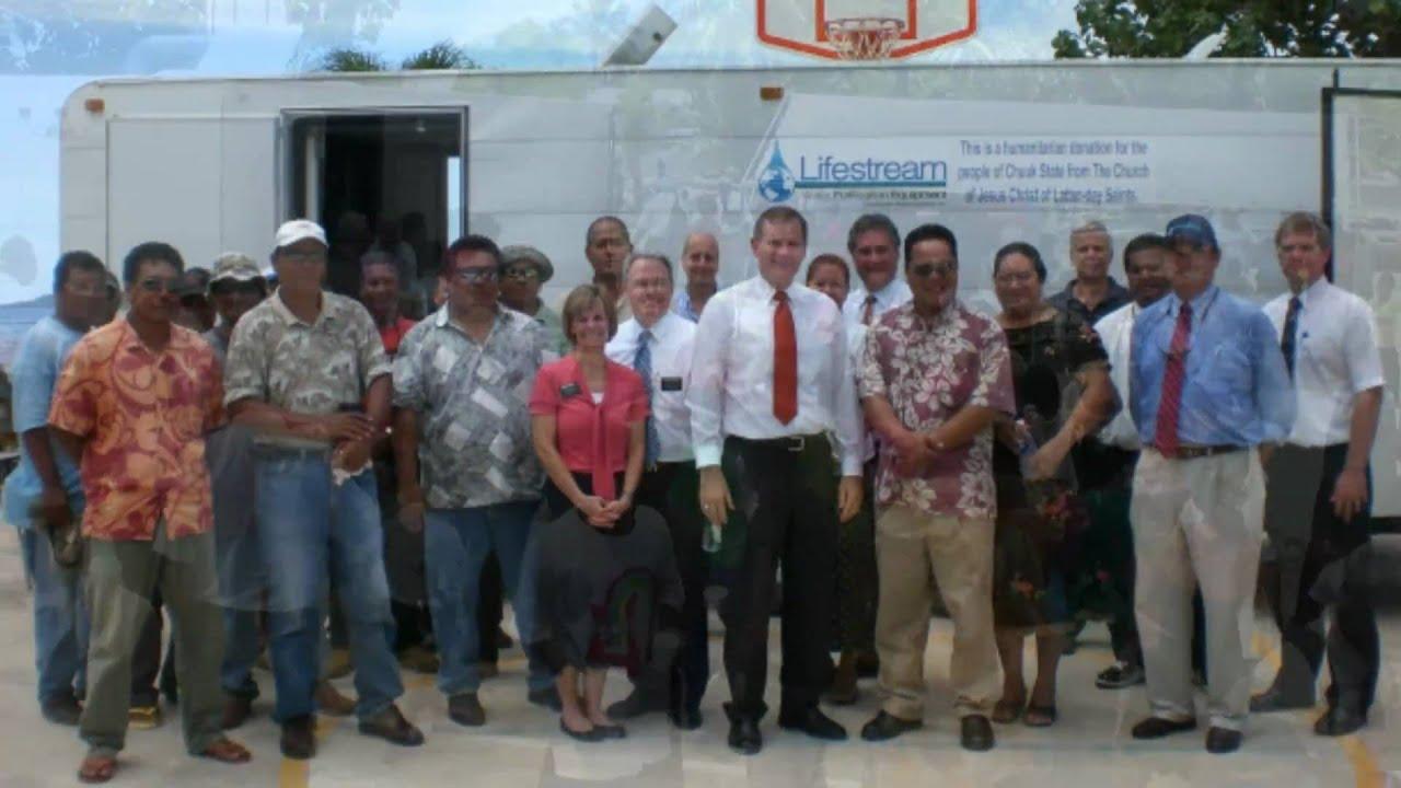 Chuuk Desalination Donation from LDS Church (2010) HD