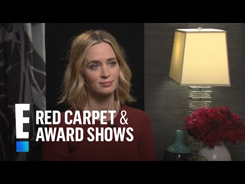 "Emily Blunt Calls Justin Theroux the ""Baby Whisperer"" 