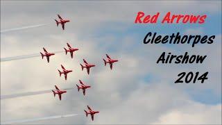 Red Arrows Cleethorpes Airshow 2014