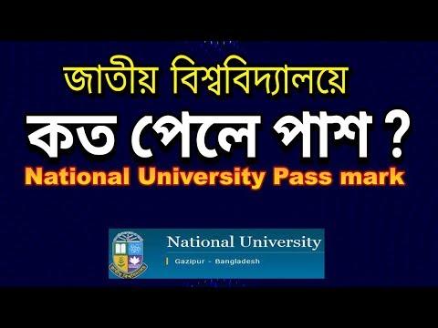 National University Pass Mark In Bangladesh