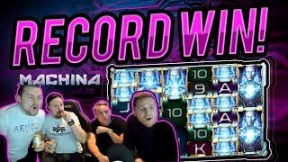 MASSIVE WIN!! Machina Megaways BIG WIN - HUGE WIN on Online Casino from Casinodady