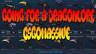 GOING FOR A DRAGONLORE - CSGOMASSIVE.COM