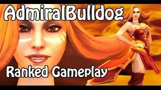 Dota 2 Admiralbulldog Lina Gameplay