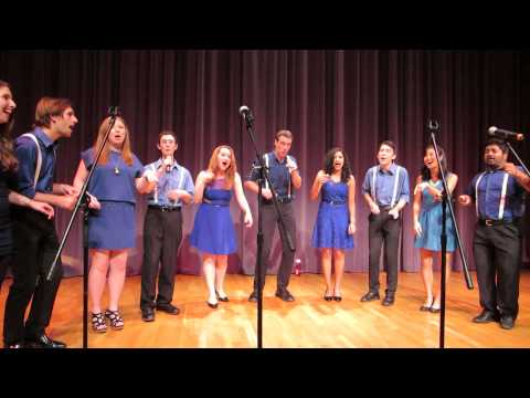 "Cal Jazz Choir ""It Don't Mean a Thing"" - West Coast Fall 2013"