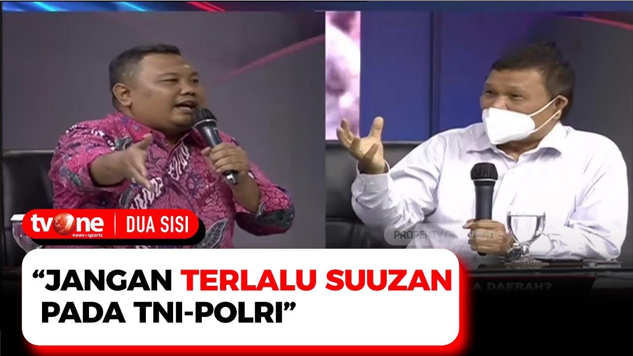 Download Debat Panas! Hendri Satrio VS Emrus Sihombing Soal PJ TNI-Polri   Dua Sisi tvOne
