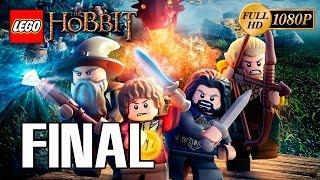 """LEGO El Hobbit: El Videojuego Final Pelicula """"La desolación de Smaug"""" Gameplay Español PC 1080p"""
