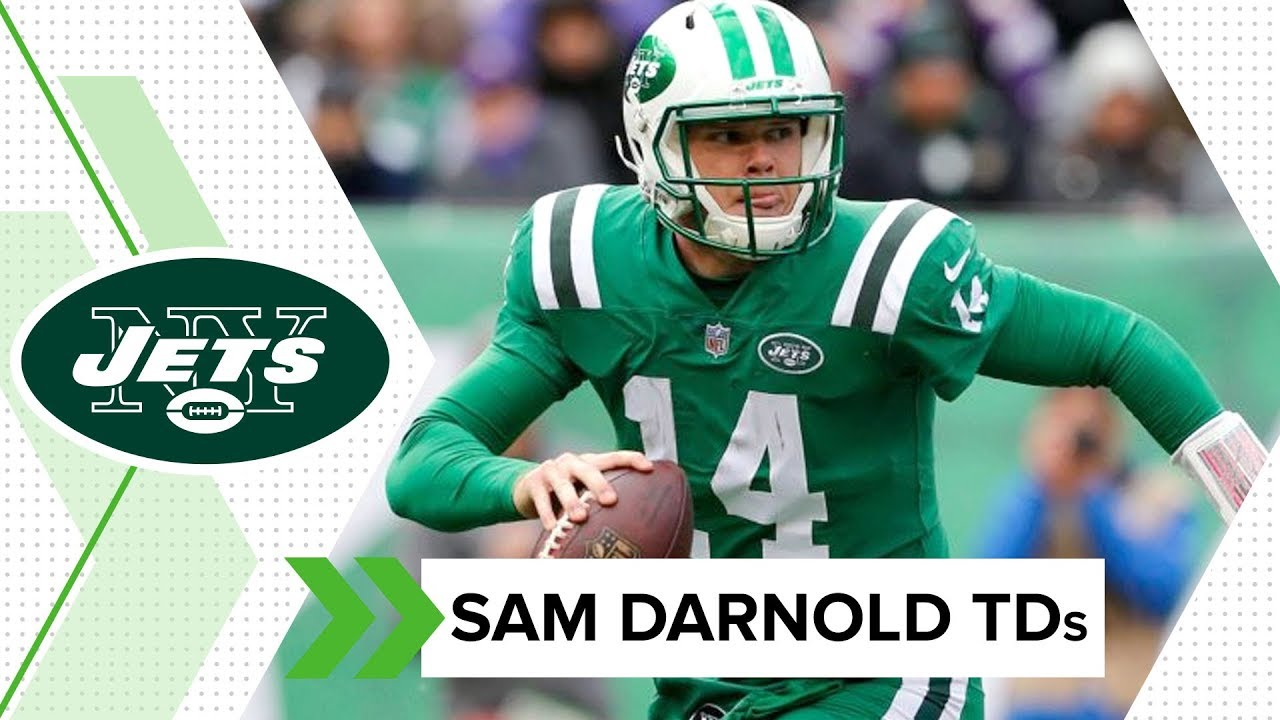 3d3c0a50a All 17 of Sam Darnold s TDs from 2018 Rookie Season