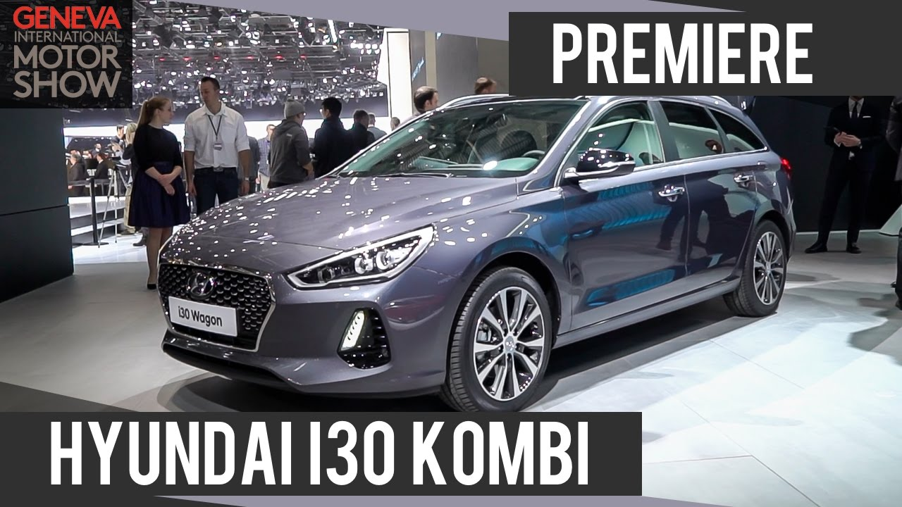 hyundai i30 kombi 2017 premiere genfer autosalon motorwoche youtube. Black Bedroom Furniture Sets. Home Design Ideas