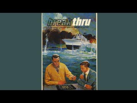 Ep 35: Breakthru (Hnefatafl) Board Game  Review (3m Bookshelf 1965)