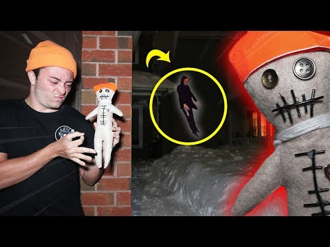 DO NOT USE REAL LIFE VOODOO DOLL ON YOUR EVIL TWIN AT 3AM!! (FELL OFF ROOF)