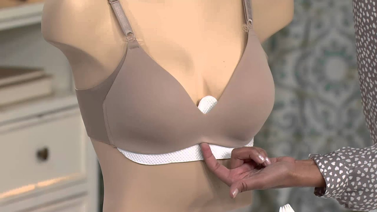 6ef148aea5 Girlease Set of 15 Disposable Bra Liners with Nancy Hornback - YouTube
