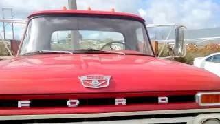 1965 Форд F600 газ двигун V8 5+2 ручних замовчуванням і коментар