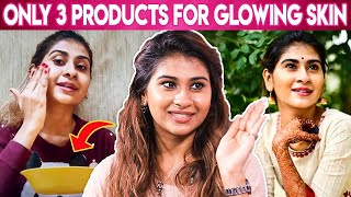 Nithyashree Home Remedies For Glowing Skin   Glowing Skin, Beauty Tips  Get NithyaFied, Super Singer